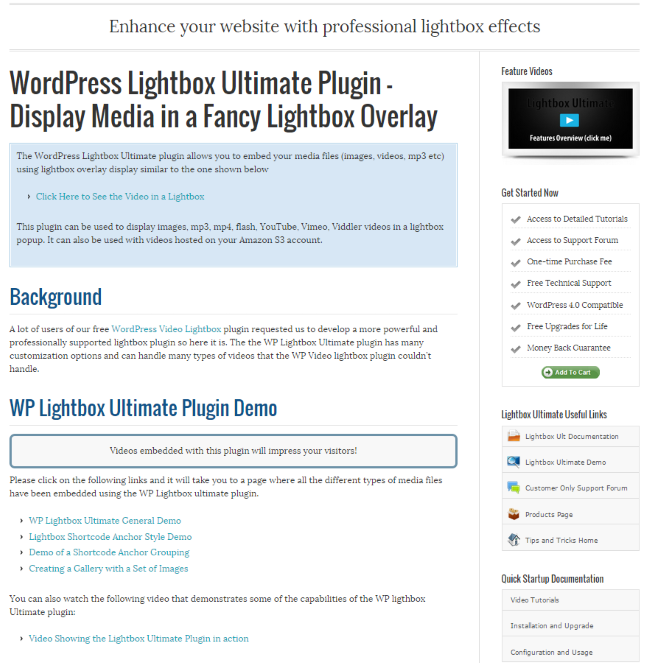 WordPress Lightbox Ultimate Plugin