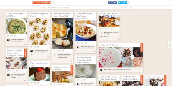 2015 Social Media Trends Web Designers Need to Know - Foodie