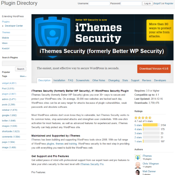 Everything You Need to Know About the iThemes Security Plugin - Overview