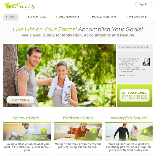 Goal Setting for WordPress Web Designers - Goal-Buddy