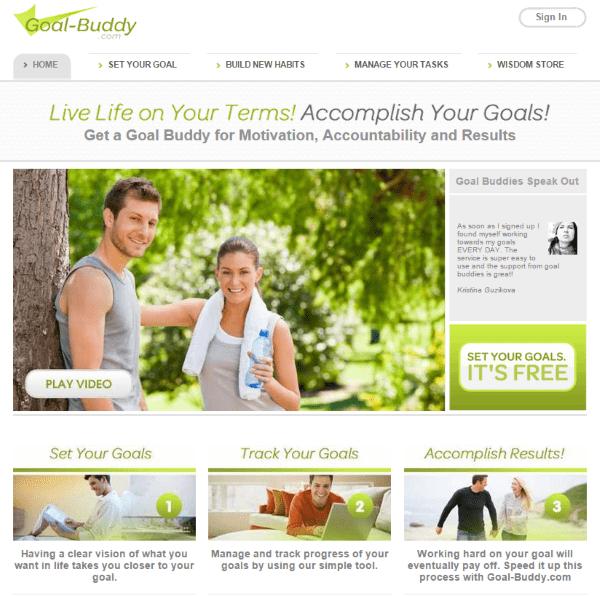 Goal Setting for WordPress Web Designers - Goal-Buddy