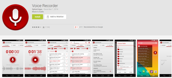 The Best WordPress Android Apps You Probably Aren't Using - Voice Recorder