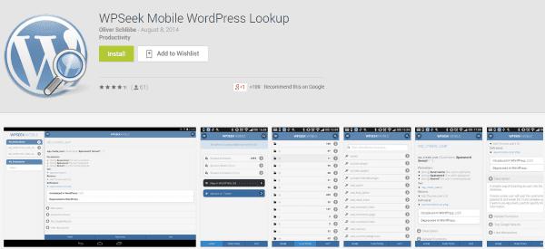 The Best WordPress Android Apps You Probably Aren't Using - WPSeek Mobile WordPress Lookup