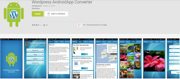 Wordpress Blog App For Android