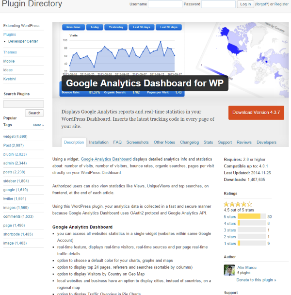 What is the ROI of Social Media - Google Analytics Dashboard for WP