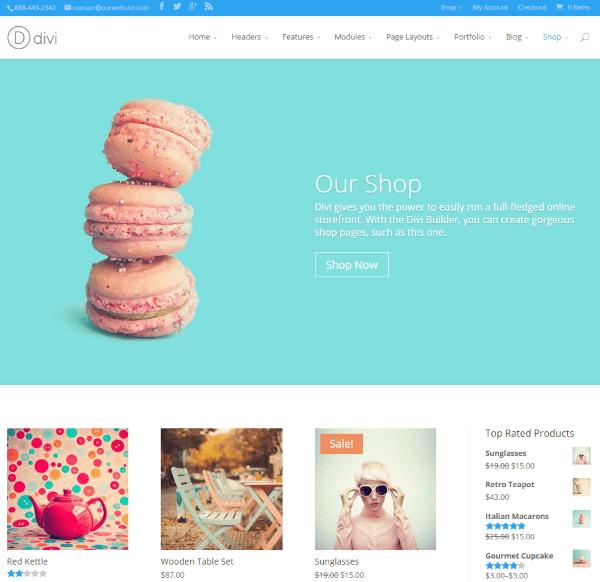 WooCommerce vs Shopify - Divi