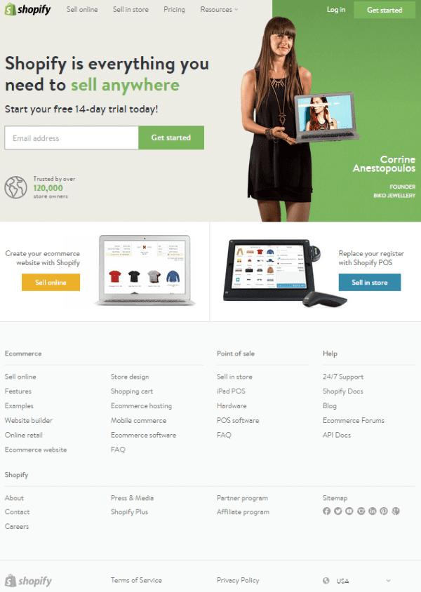 WooCommerce vs Shopify - Shopify