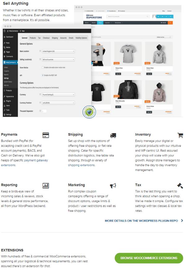WooCommerce vs Shopify - WooCommerce