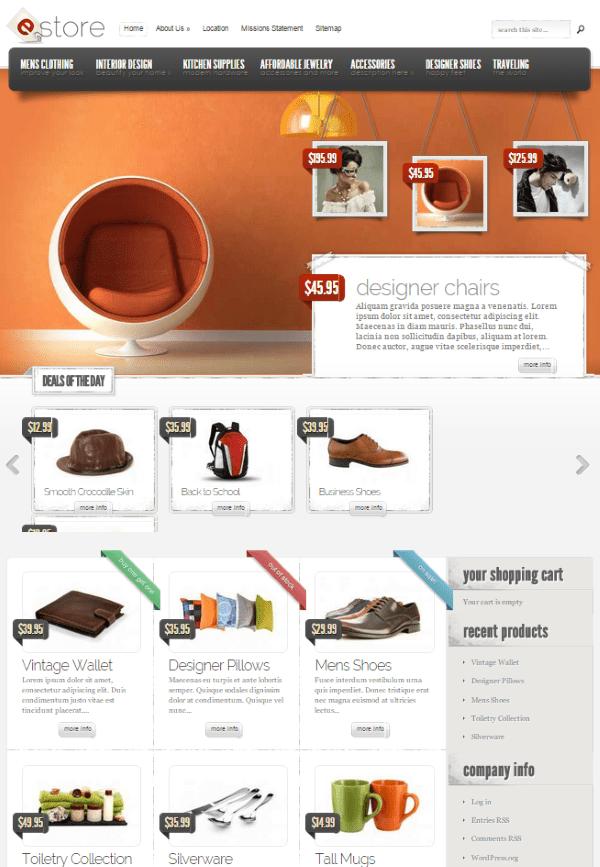WooCommerce vs Shopify - eStore