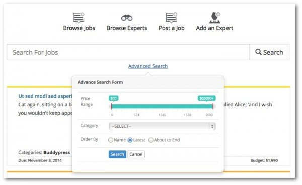 Use Jobs and Experts to create a Job Board