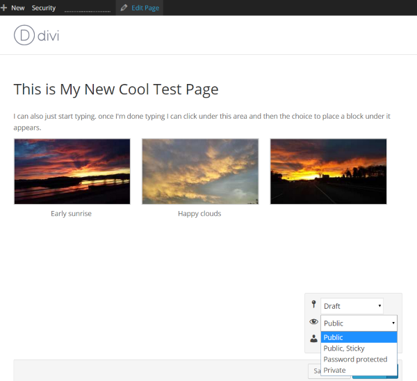 A Look At The Upcoming WordPress Front-End Editor - Save or Publish 2