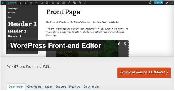 A Look At The Upcoming WordPress Front-End Editor - WordPress Front-end Editor