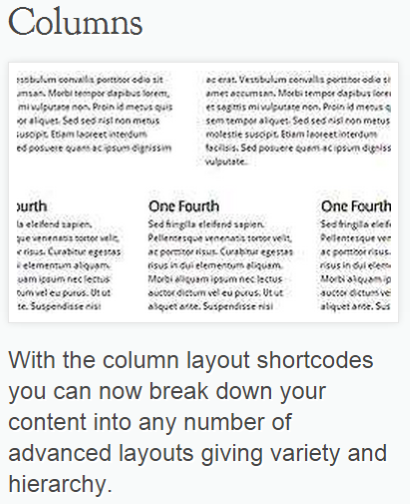 How To Create Column Layouts In WordPress - ET Shortcodes