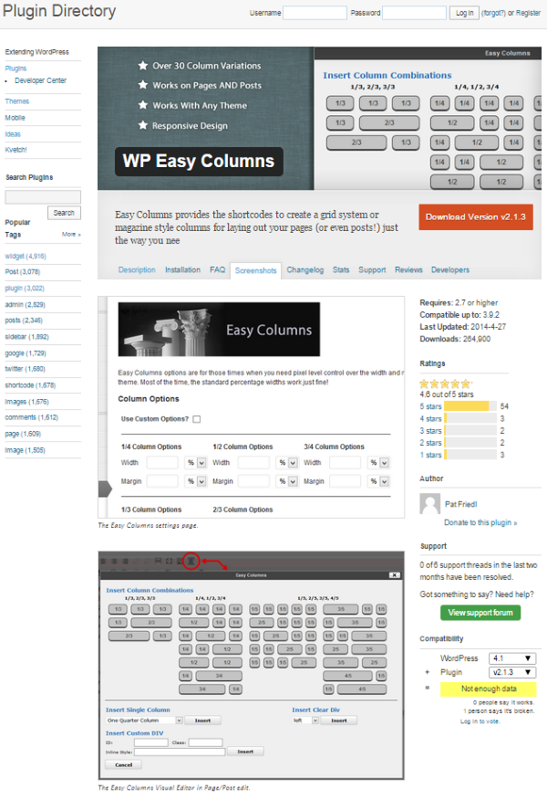 How To Create Column Layouts In WordPress - WP Easy Columns