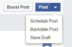 How To Post To Facebook From WordPress - Facebook's Scheduler