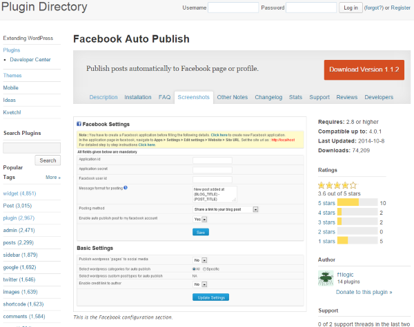 How To Post To Facebook From WordPress - Facebook Auto Publish