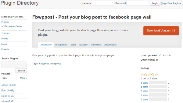 How To Post To Facebook From WordPress - Fbwppost