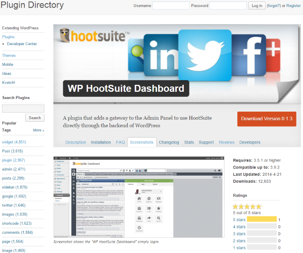 How To Post To Facebook From WordPress - Hootsuite Plugin