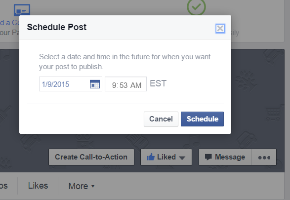 How To Post To Facebook From WordPress - Schedule Post