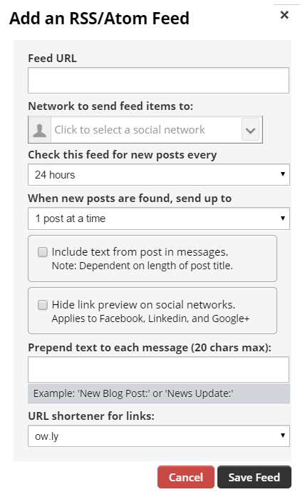 How To Post To Facebook From WordPress - The Hootsuite App rss