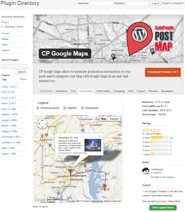 How to Build a Wedding Website with WordPress - CP Google Maps