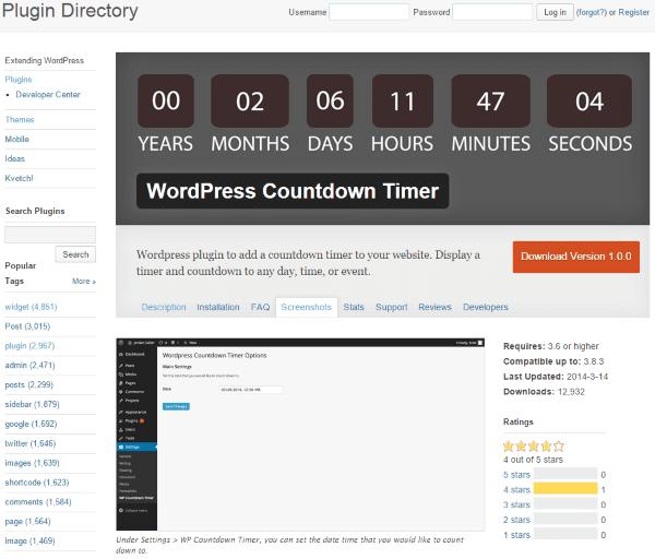 How to Build a Wedding Website with WordPress - WordPress Countdown Timer