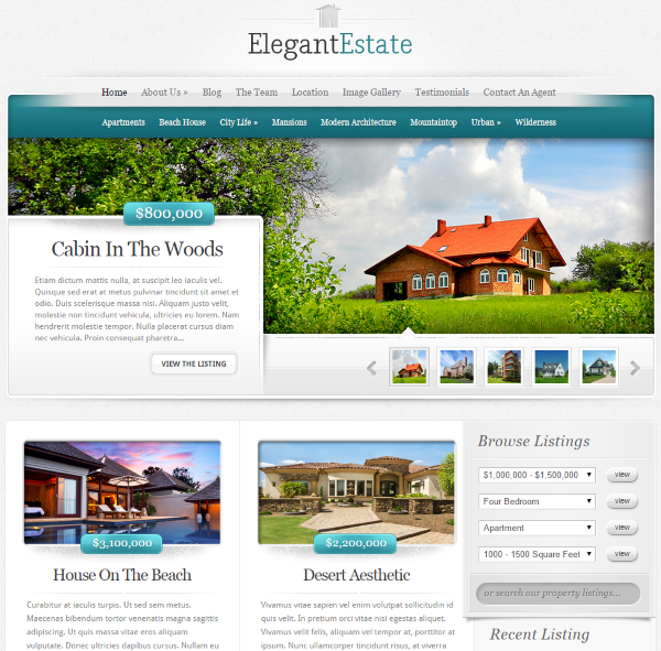How to Integrate MLS Listings Into a Real Estate Website - Elegant Estate