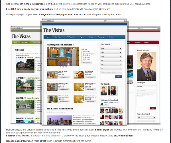 How to Integrate MLS Listings Into a Real Estate Website - The Vistas