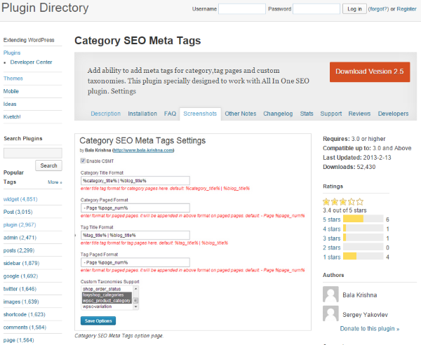 How to Optimize Your WordPress Site for Local Search - Category SEO Meta Tags