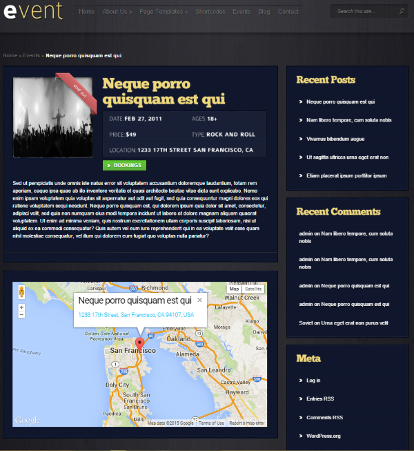 How to Set Up WordPress Event Registration Elegant Theme's Event Theme 2