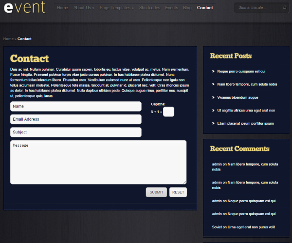 How to Set Up WordPress Event Registration - Elegant Theme's Event Theme 3