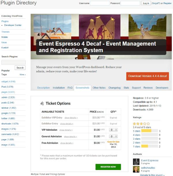 How to Set Up WordPress Event Registration - Event Espresso 4 Decaf - Event Management and Registration System