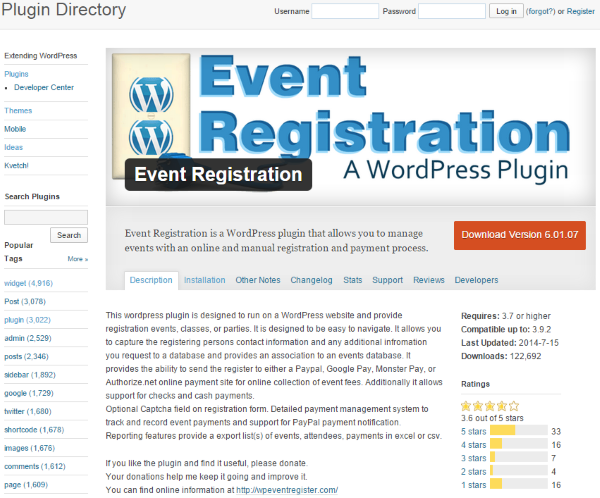 How to Set Up WordPress Event Registration - Event Registration