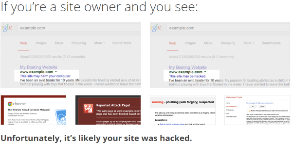 How to Use Google Webmaster Tools to Improve Your Website - Security Issues