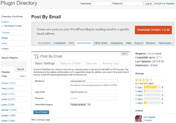 How to Use the WordPress Post by Email Feature - Post by Email