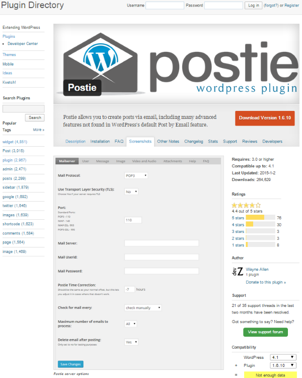 How to Use the WordPress Post by Email Feature - Postie