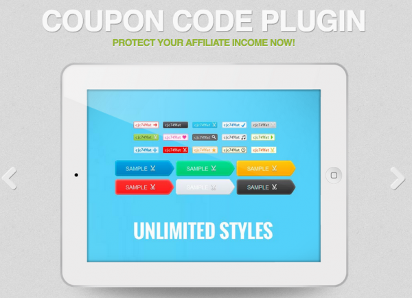 Protect your affiliate income with coupon code plugin