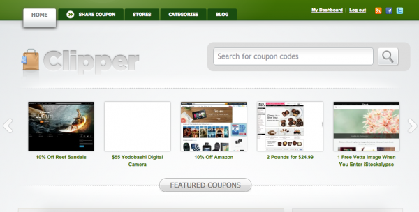 Build a coupon site using WordPress and Clipper theme