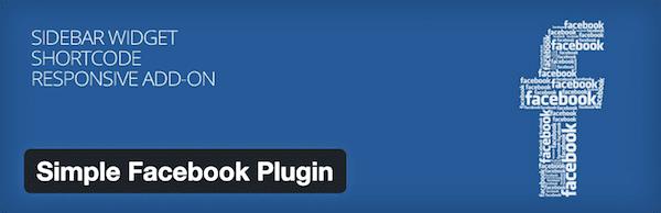 Simple Facebook Plugin for WordPress