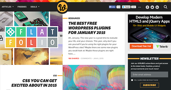 40 web design blogs to follow in 2015 elegant themes blog for Wordpress design