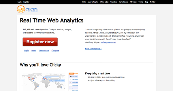 WordPress-Analytics-Clicky