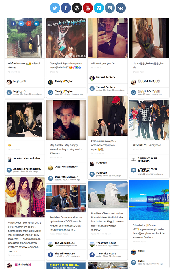 how to create a wordpress social feed | elegant themes blog