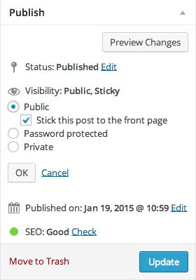 wordpress-sticky-post-settings