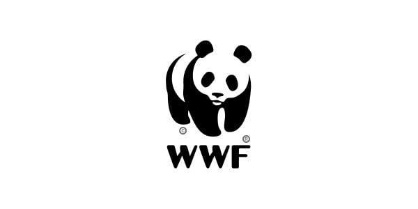 black white panda logo