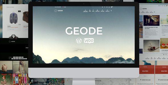 Geode WooCommerce Theme
