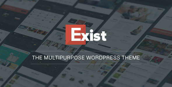 Exist WordPress theme for WooCommerce