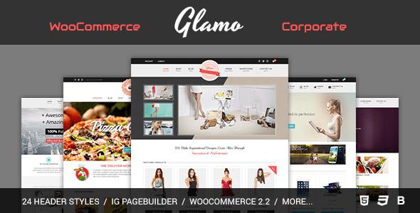 Glamo WooCommerce Theme