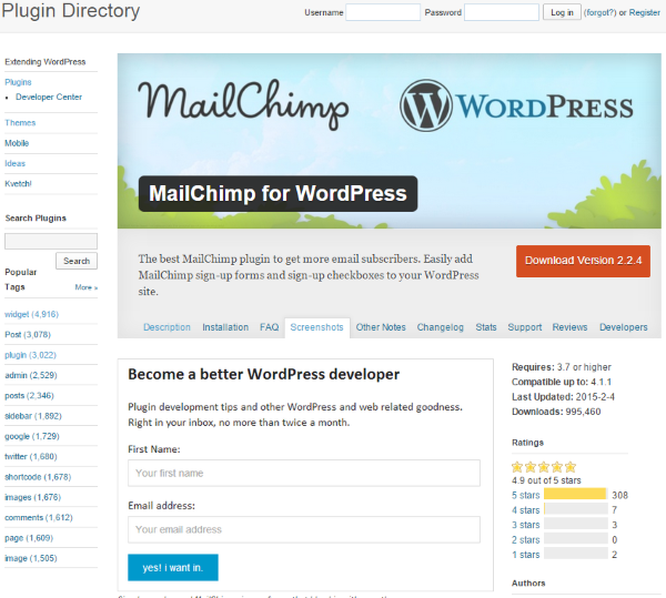 7 Creative Ways to Take Advantage of Your WordPress Site's Footer - MailChimp for WordPress