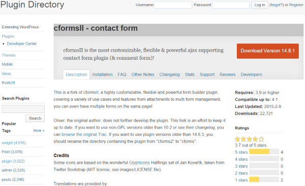 7 Creative Ways to Take Advantage of Your WordPress Site's Footer - cformsII - contact form