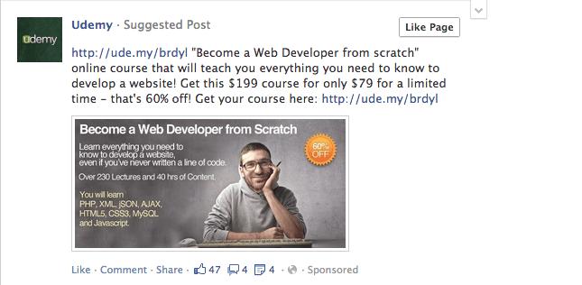 News Feed Ad Creative